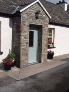 Riverside Cottage B&B Doolin Front door