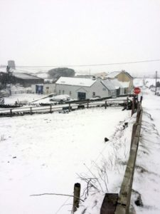 Riverside Cottage B&B Doolin Snow (1)