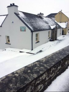 Riverside Cottage B&B Doolin Snow